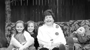 Grandma Kids2BW