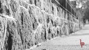 Stone Wall BW