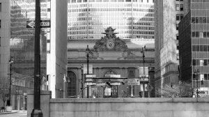 New York Train Station BW