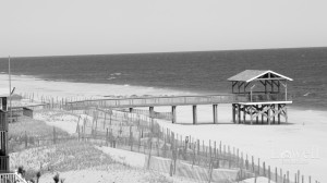 LBI Beach NJ BW