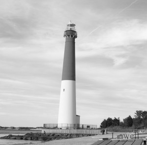 Lighthouse Front Bw