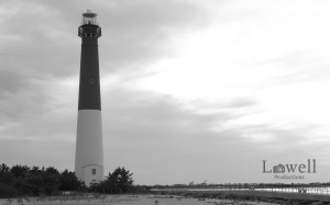 Lighthouse Sunset BW2