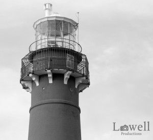 Lighthouse upclose BW